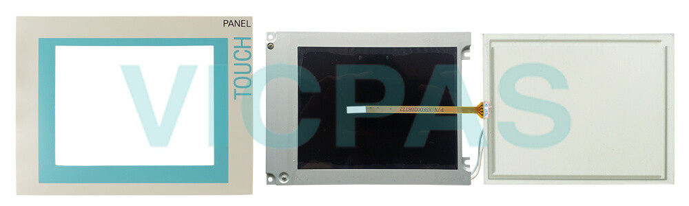 6AV6545-0CA10-0AX0 Siemens SIMATIC HMI TP270 Touch Screen Panel, Overlay, Front Cover and LCD Display Repair Replacement