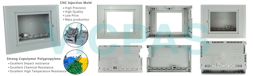 6AG1643-0AA01-4AX0 Siemens SIMATIC HMI TP277 Touch Screen Panel, Overlay, Front Cover and LCD Display Repair Replacement