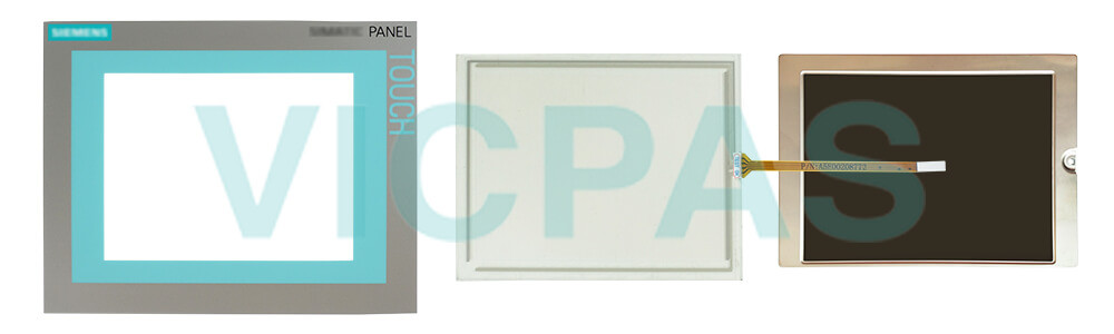 6AV6643-0AA01-1AX1 Siemens SIMATIC HMI TP277 Touch Screen Panel, Overlay, Front Cover and LCD Display Repair Replacement