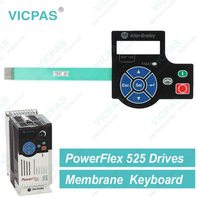AB PowerFlex 525 AC Drivers Keypad for Replacement