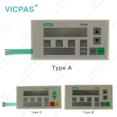 6ES7272-1AA10-0YA1 Siemens TD200C Membrane Switch Plastic