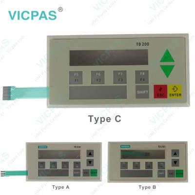 6ES7272-1AF00-7AA0 Siemens TD200C Membrane Keypad Plastic