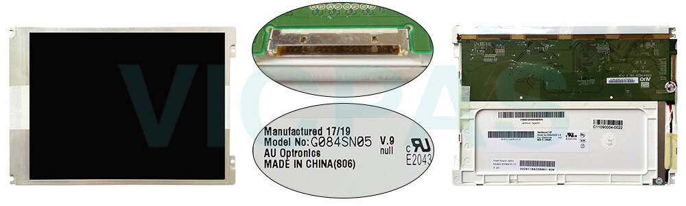 AUO G084SN05 V.8 LCD Display Screen G084SN05 V.9 Replacement Repair