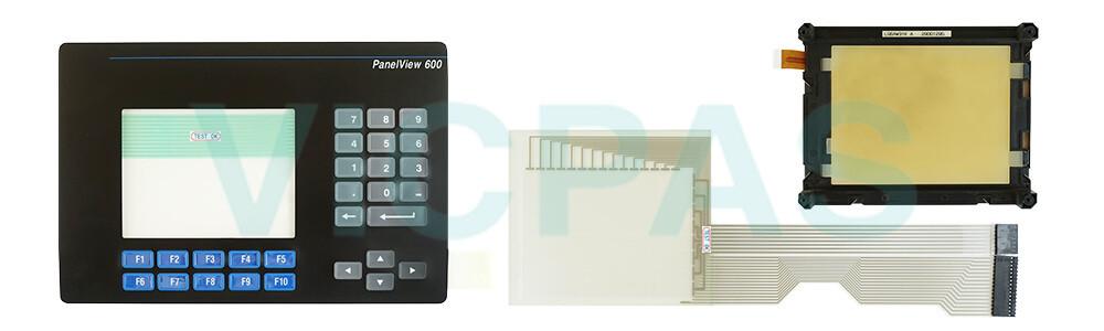 Membrane switch for AB 2711-B6C2 2711-B6C2L1 Panelview 600 keypad keyboard