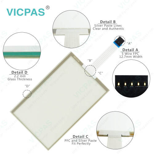 AMT28199 AMT-28199 Touch Screen Panel Glass