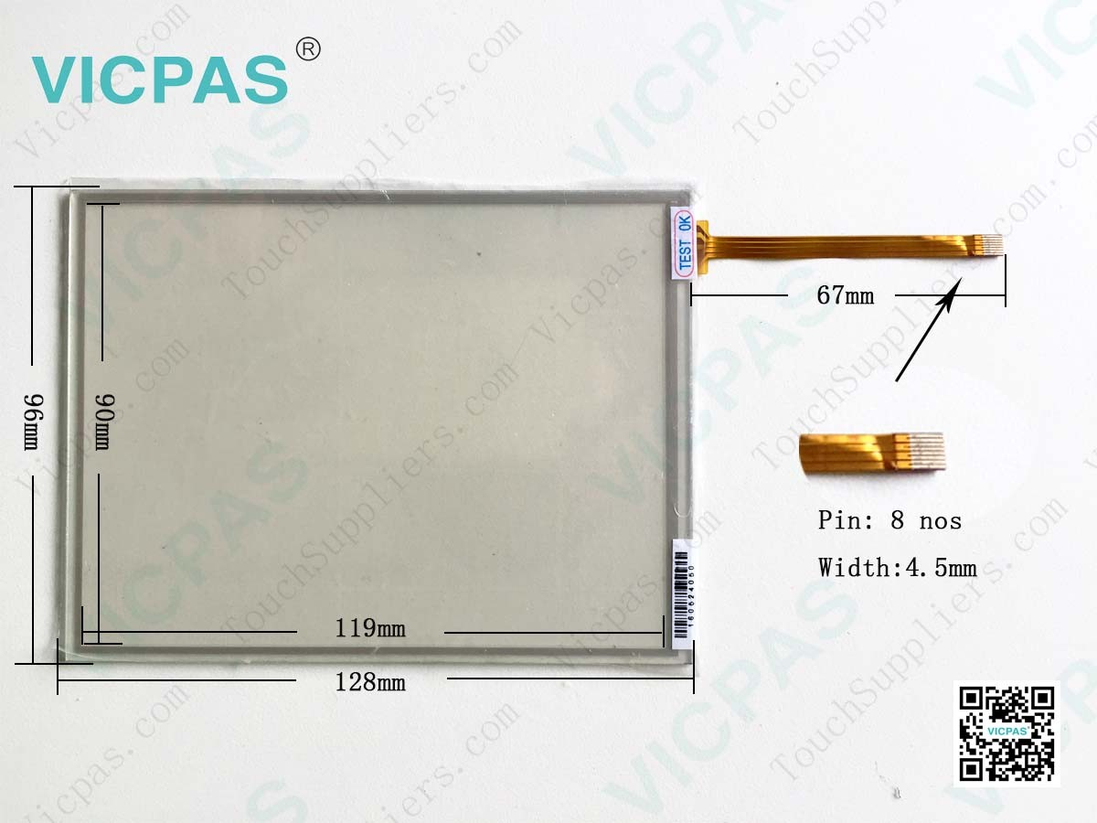 Schneider HMIS85 HMIS85W Touch Screen Panel Glass Protective Film repair replacement