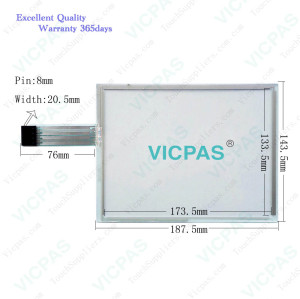 9871300A 1071.0025 A091700041 Touch Screen Panel Glass