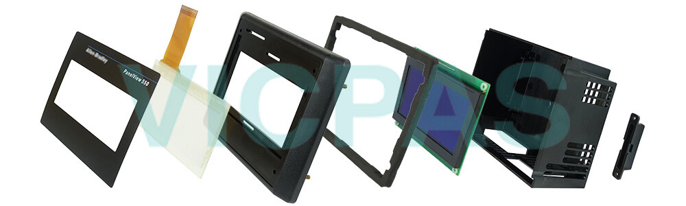 2711-T5A20L1 PanelView 550 Touch Screen Panel Protective Film LCD Display Repair Replacement