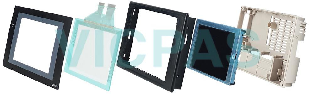 Omron NS5 series HMI NS5-MQ00B-V2 Touch panel,Protective film and Display Repair Kit