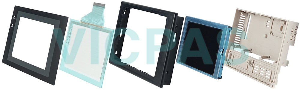 Omron NT31 series HMI NT31-ST123B-EV3 Touch Panel,Protective Film and Display Repair Kit.