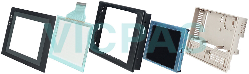 Omron NT31 series HMI NT31-ST123B-V3 Touch Panel,Protective Film and Display Repair Kit.