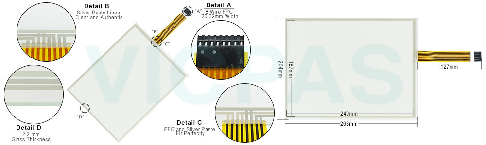 HMI R8217-01 R8217-01A Touch Screen Monitor Repair Kit