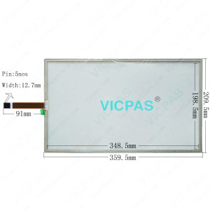 AMT2522 91-02522-000 AMT-2522 Touch Screen Glass