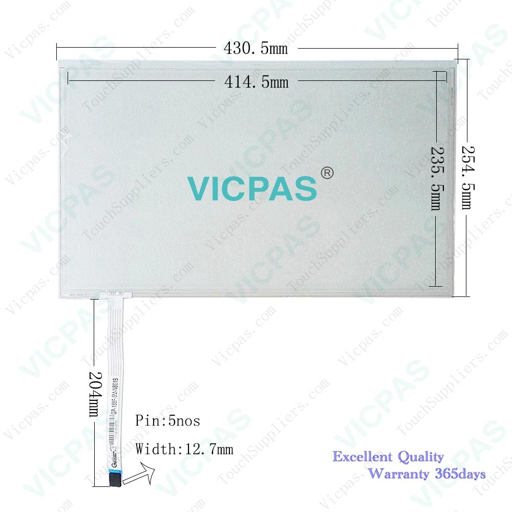AMT2523 AMT 2523 AMT-2523 Touch Screen Panel glass Repair