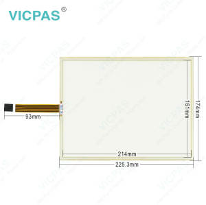 AMT2854 AMT 2854 AMT-2854 Touch Screen Panel Glass