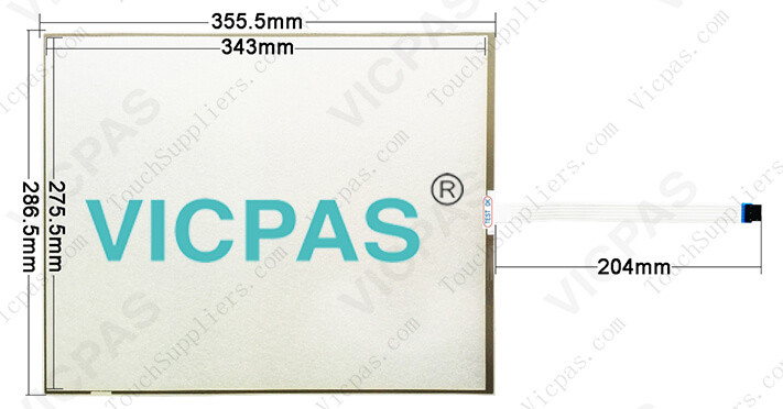 91-02528-00A/0252800A touch screen panel glass repair