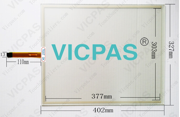 91-02840-00A Touch screen glass repair 19 inch 5-wire
