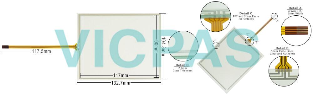 EffectiView eV058-TST-2A touch screen panel repair