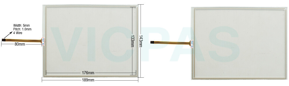 AMT9536 AMT 9536 AMT-9536 91-09536-000 touch screen panel repair