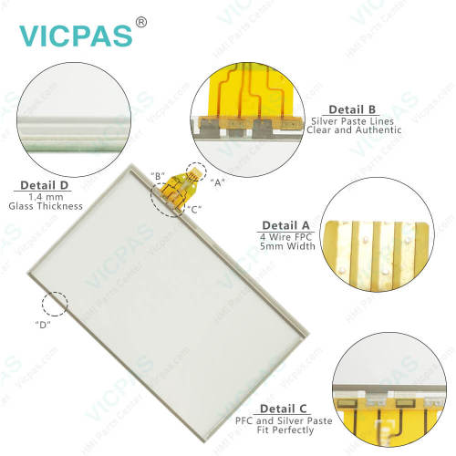 91-09551-000 9109551000 Touch Membrane Replacement