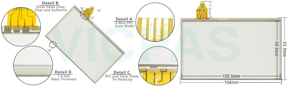 91-09551-000 Touch Screen Glass Repair