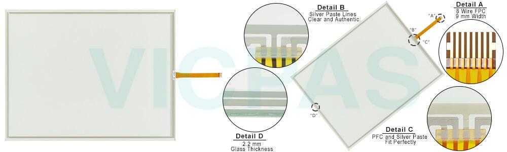 telemecanique magelis XXBTGT7340 XBT GT7340 Touch Screen Panel