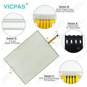 80FG-4180-F0110 TR4-150F-11N Touch Screen Glass Repair