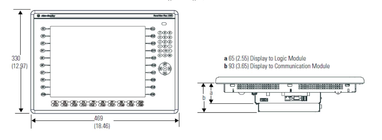 1500 Keypad or Keypad/Touch Terminal