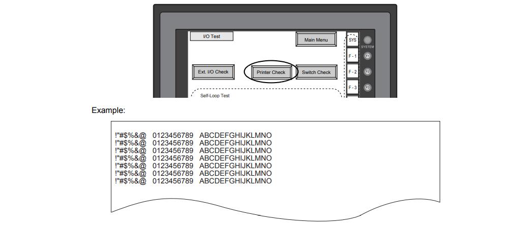 How to check V708C V708CD Print?