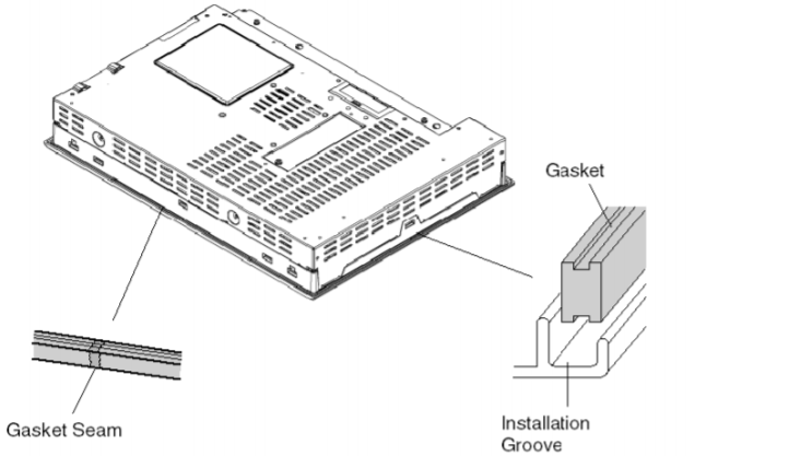 How to install the Schneider Magelis iDisplay MPCYT50NAN00N Unit?