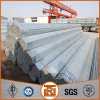 ASTM A 53/A 53M-2007 ERW hot dipped zinc coated steel round pipe