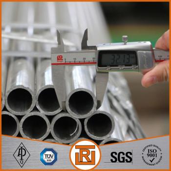 EN 10224-2002 S235JR Welded Galvanized Steel Pipe for Conveyance of Aqueous Liquids