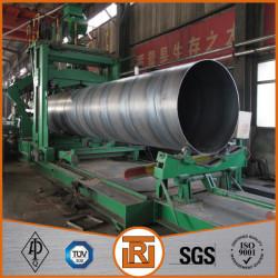 Large diameter carbon spiral welded steel pipe