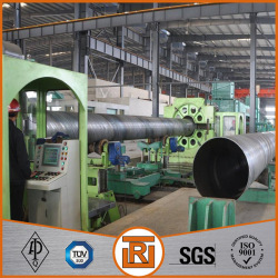 Q195 ssaw steel pipe for oil and gas manufacturing