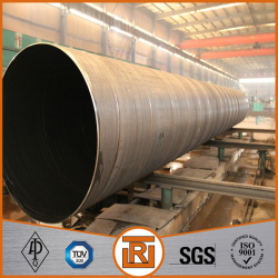 High quality SSAW welded steel pipe manufacturer