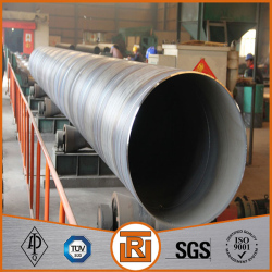 ASTM A53 SSAW round steel pipe for overseas market