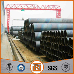 DIN 2460 spiral welded steel water pipelines.