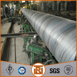 Construction material with high strength carbon ssaw steel pipe