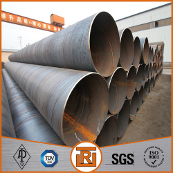SSAW welded steel pipe for water power station building project