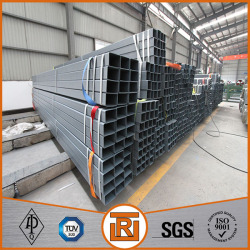 Hot dipped galvanized carbon welding steel square tubing