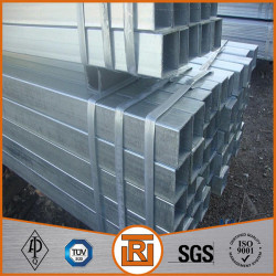 ASTM A513 HDG SHS square steel tubing dimensions