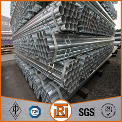 1.5 inch pre galvanizing steel round pipe process for fence pipe