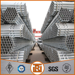 Plain end ERW welding pre-galvanized steel pipe with coupling