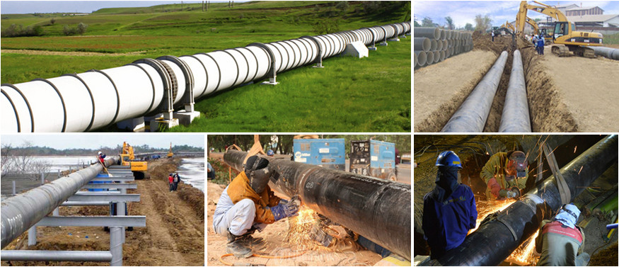 spiral steel pipe application