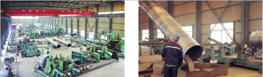 spiral welded pipe factory