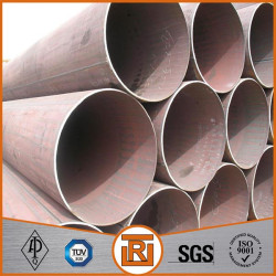 LSAW round welded steel pipe used for building material