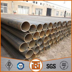 LSAW round welded carbon steel pipe