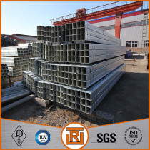 ASTM A 500 ERW cold formed galvanized square steel tubing for structure