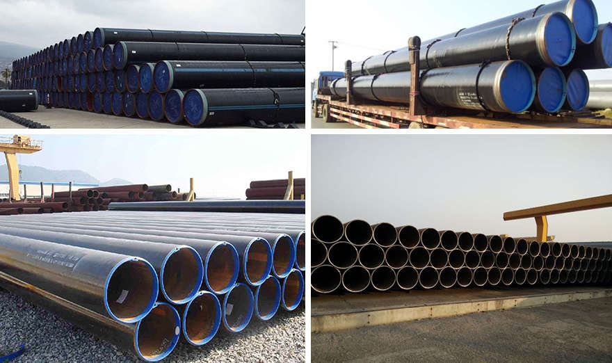 lsaw steel pipe packaging