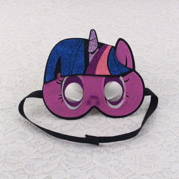 Childrens unicorn party mask costume easter halloween birthday decoration